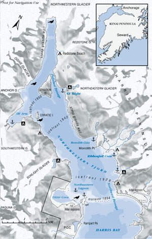 Northwestern Fjord Map